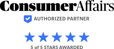 Consumer Affairs - Five Star Rating