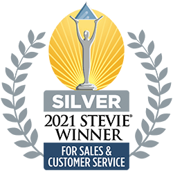 BCustomer Service Department of the Year - 2020 Stevie Awards Silver