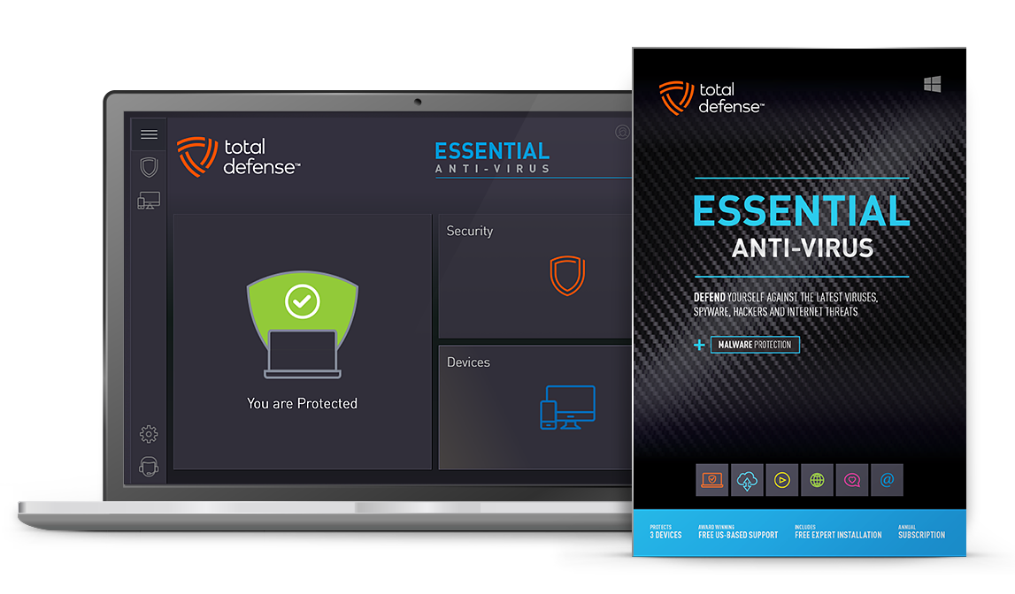 Essential Anti-virus - Best Malware Protection