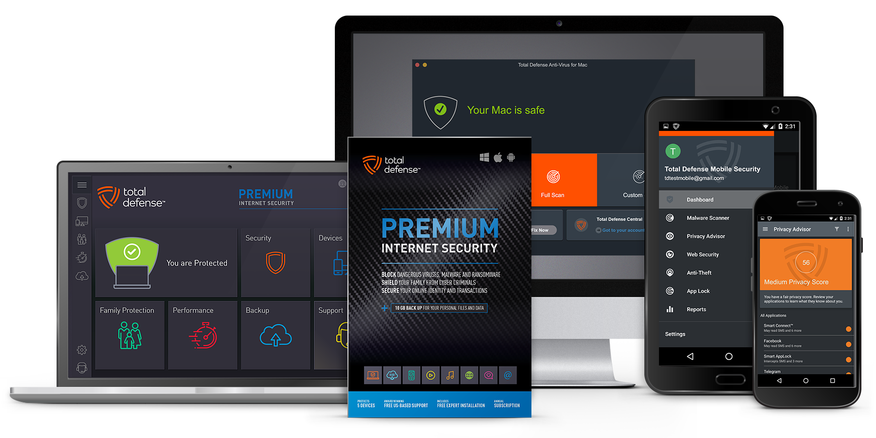 Premium Internet Security - Best Anti-virus Protection