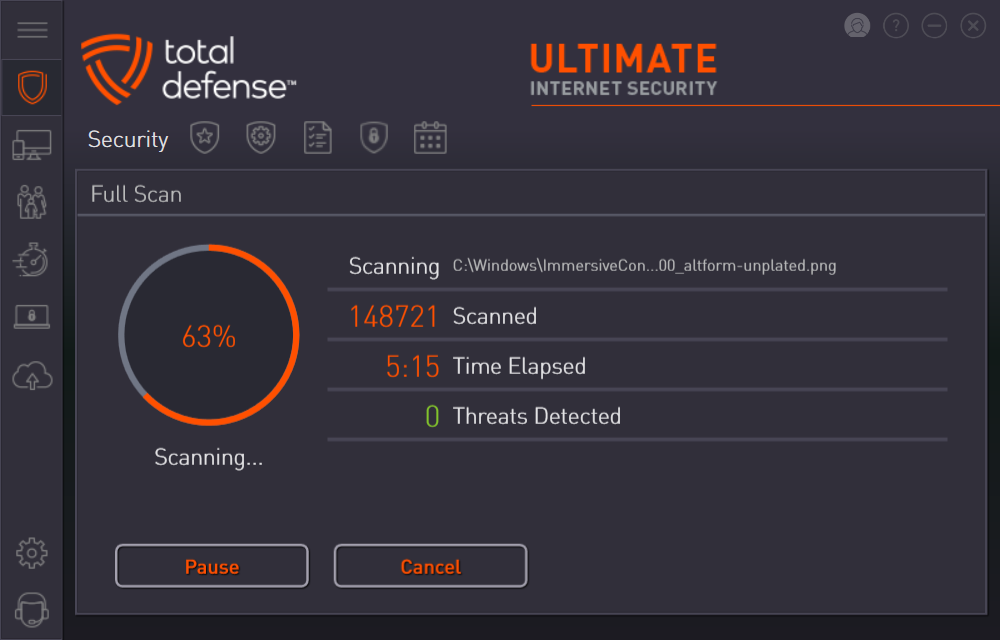 Ultimate Internet Security - Best Malware Scanning