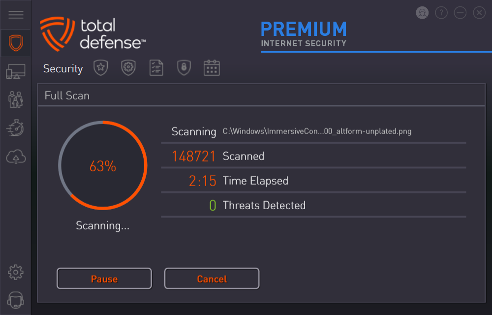 Premium Internet Security - Best Malware Scanning