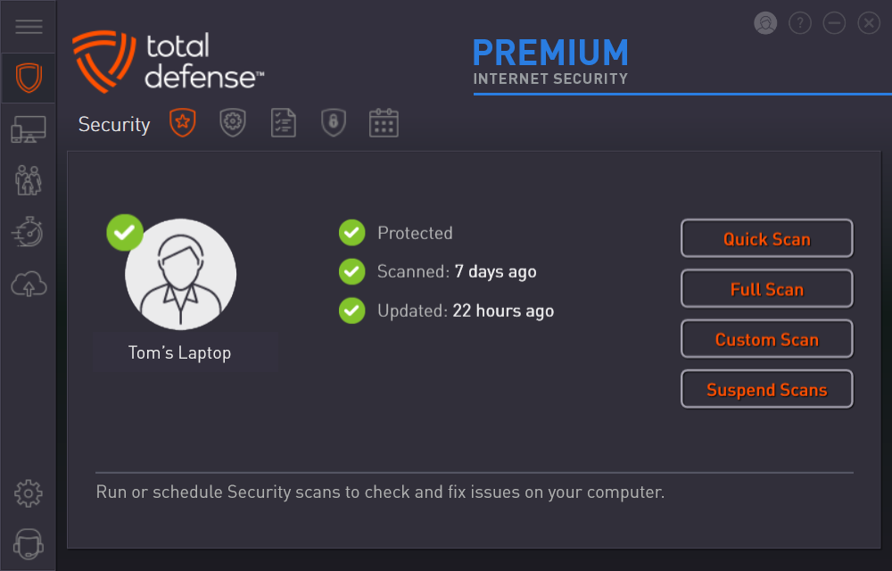 Premium Internet Security - Easy to use Anti-virus Security
