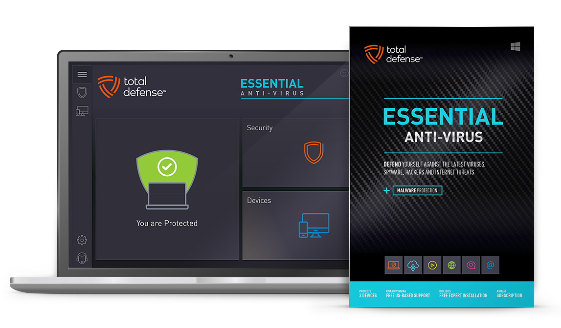 Essential Anti-virus - Best Malware Security