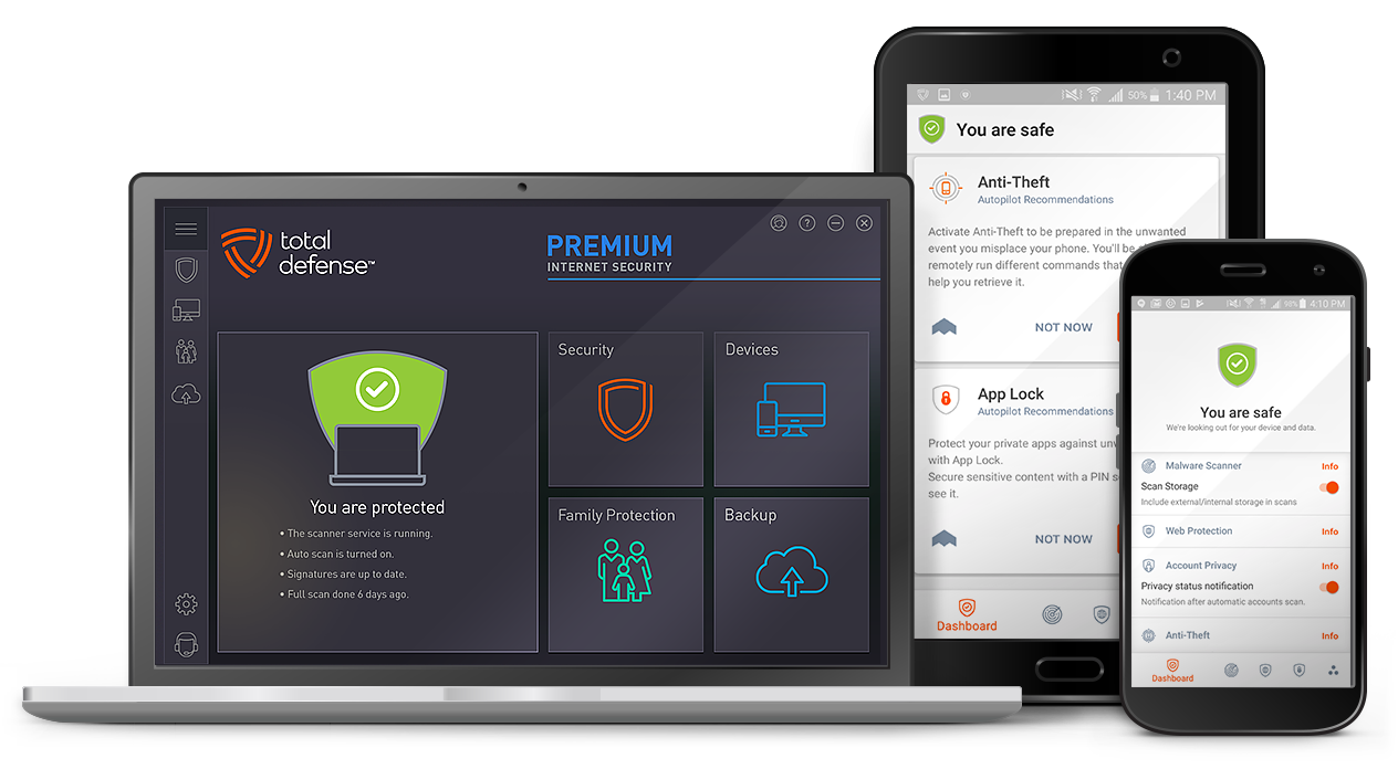 Total Defense Premium Internet Security