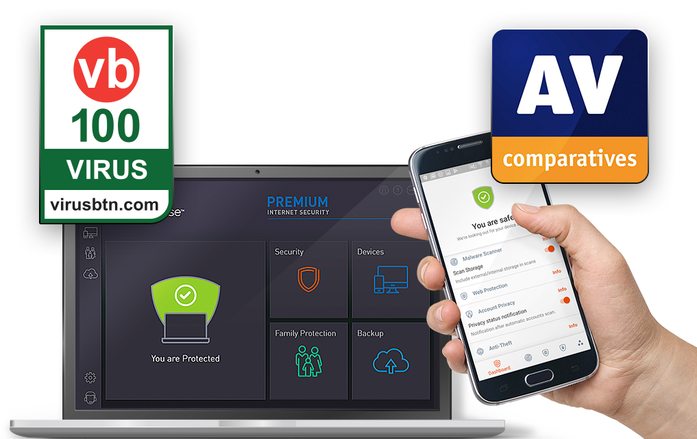 Premium Internet Security - Award Winning Anti-virus Protection