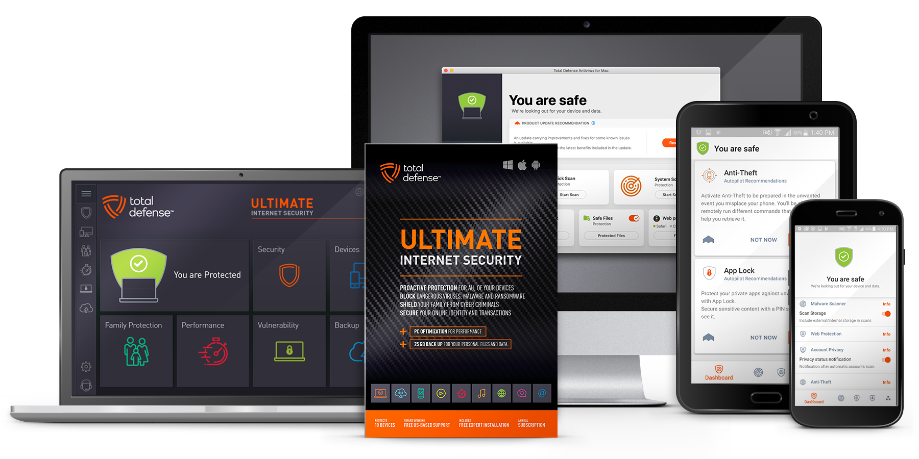 Ultimate Internet Security - Best Malware Protection