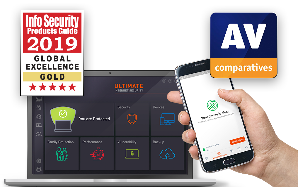 Ultimate Internet Security - Award Winning Anti-virus Protection