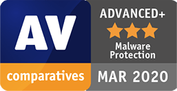 AV Comparatives Advanced Plus Malware Protection