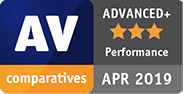 AV Comparatives Advanced Plus Performance