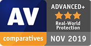 AV Comparatives Advanced Plus Real-World Protection
