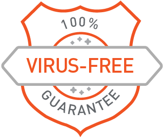 Virus-Free Guarantee